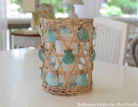 shell craft projects seashell craft for nautical house decorating