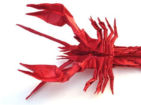 origami lobster jason s ku s homepage