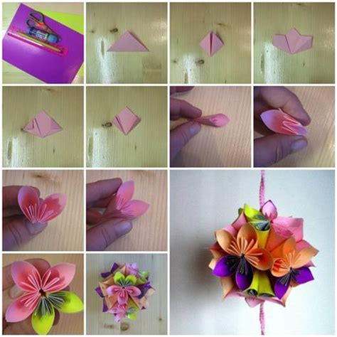 how do you make origami flowers diy origami paper flower