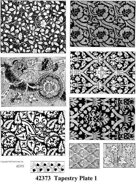 rubber st tapestry 42373 tapestry plate 1 sheets of unmounted rubber sts