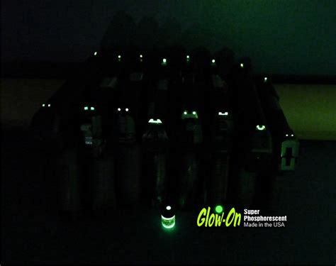 best glow in the paint for gun sights check this out glow in the gun sights paint