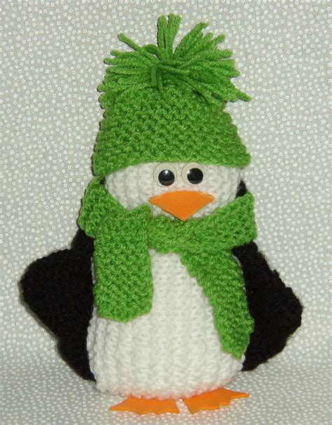 A Few More Penguins To Knit Free Patterns Grandmother