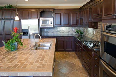 tile kitchen countertops ideas ceramic tile kitchen countertop kitchentoday