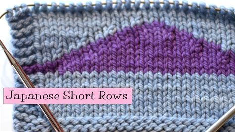 knit help knitting help japanese rows