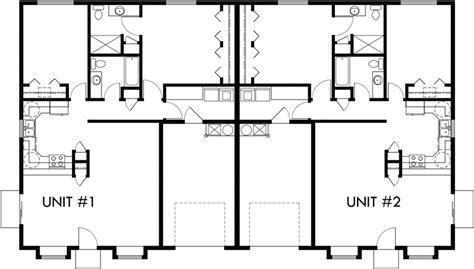 duplex floor plans single story one story duplex house plans 2 bedroom duplex plans