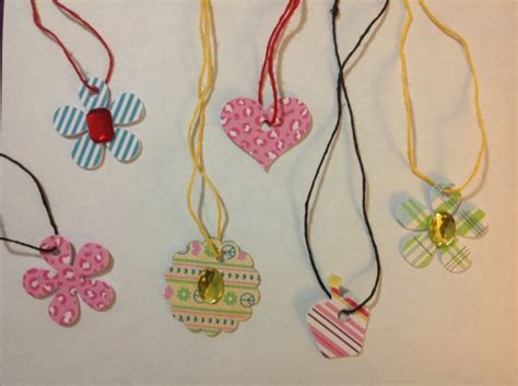 paper craft jewellery healthy day crafts