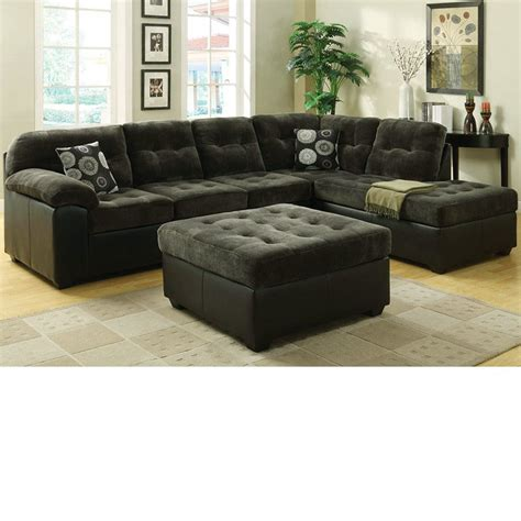 green sectional sofa dreamfurniture 50530 layce green fabric