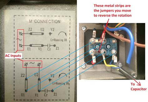 Single Phase Motor by Wiring How To Wire Up A Single Phase Electric Blower