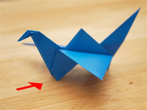 origami flying how to make an origami flying bird with pictures wikihow