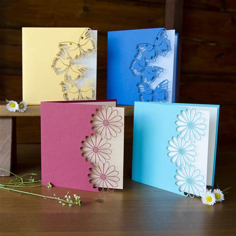 make handmade cards handcrafted cards beautiful color butterfly or