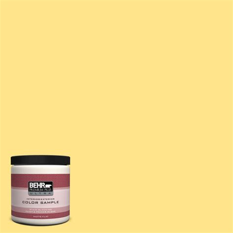 behr paint colors interior yellow behr premium plus ultra 8 oz 370a 3 bicycle yellow