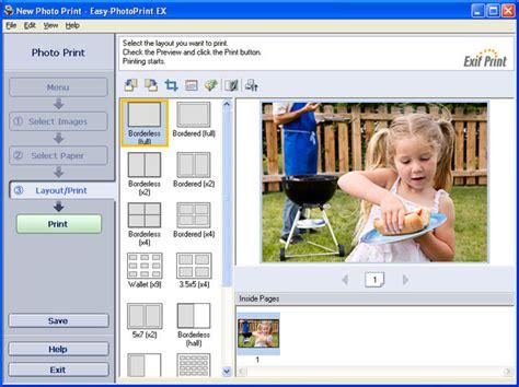ex 4 free canon easy photoprint ex 4 5 0
