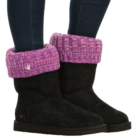 knit boot toppers bearpaw knit boot toppers for save 53
