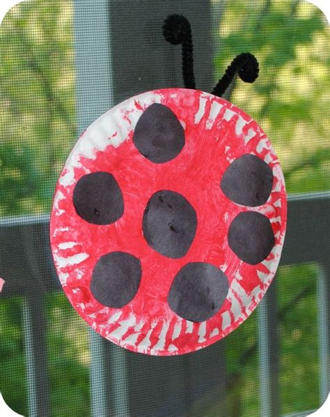 paper plate ladybug craft 1000 images about preschool bug week on