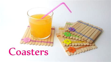 diy craft for diy crafts coasters using sticks innova