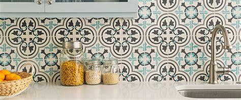 Backsplash For White Kitchens cement tiles and concrete tiles cement tile shop