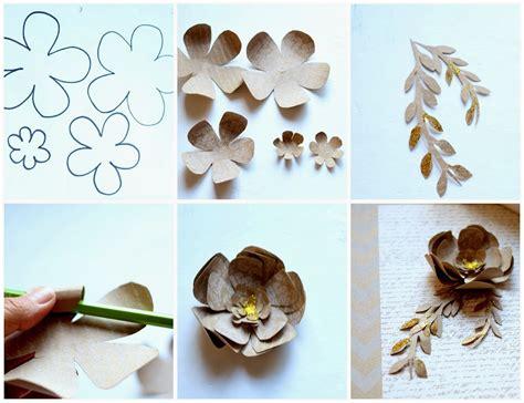 paper flower craft tutorial paper flower tutorial