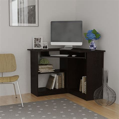 small home computer desk corner computer desk great for college or space