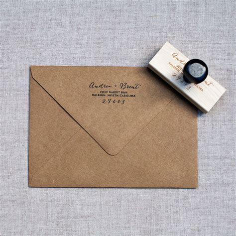 custom rubber sts etsy items similar to return address st wedding address