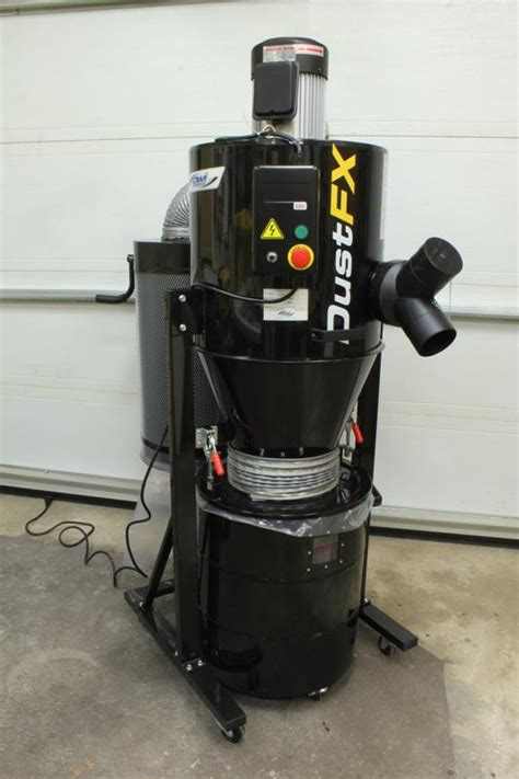 cyclone dust collector reviews woodworking dustfx 2hp cyclone dust collector review item cwi dcp020h