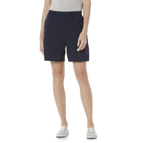 womens knit shorts womens jersey knit shorts kmart jersey knit