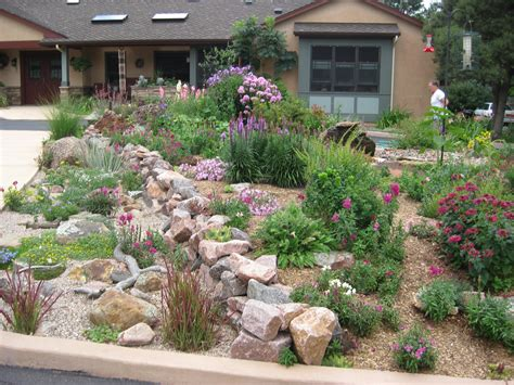 front yard rock garden habitat awards residential gardens part ii