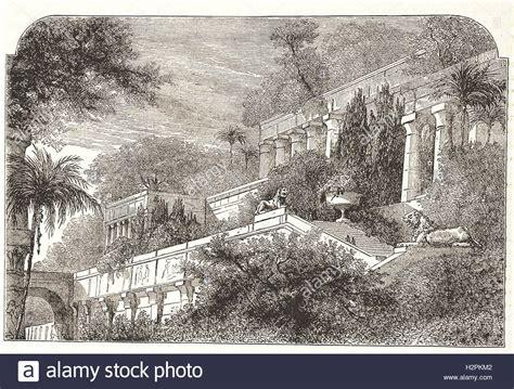 Der Garten Ischtar Kunst by Babylon Stockfotos Babylon Bilder Alamy