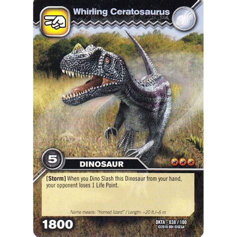 how to make dinosaur king cards deck dinosaur king card dkta 038 whirling