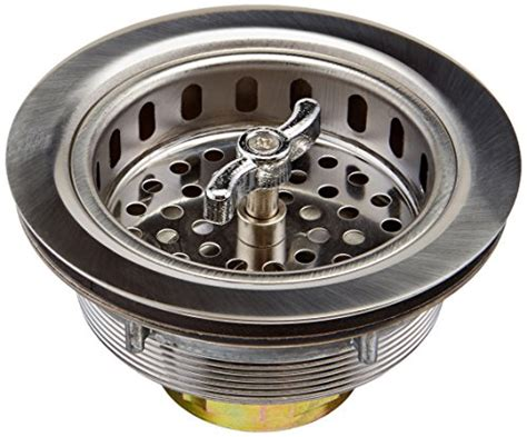 seals for kitchen sinks images keeney 1433ss k5410 sink strainer with turn 2 seal basket