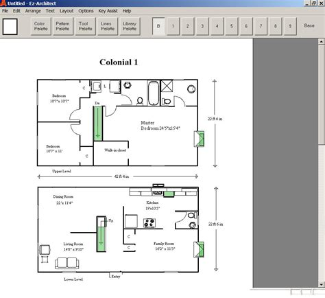 design your home on ez architect for windows 7 and 8 and 10 and xp and vista