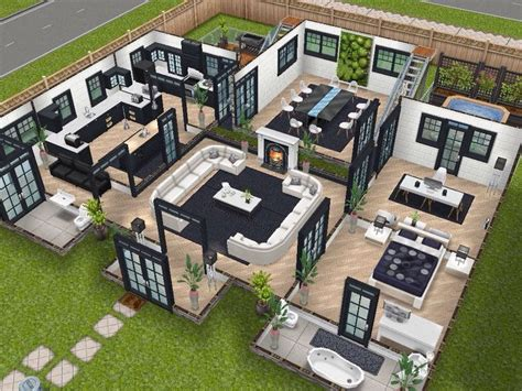 sims freeplay house floor plans 10 best images about the sims freeplay house designs on