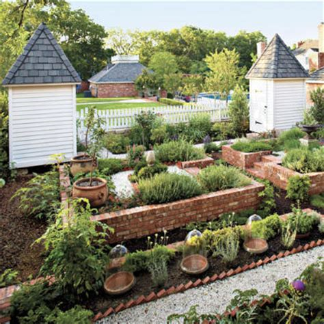 kitchen garden design ideas plant a kitchen garden southern living