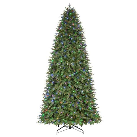 12 ft artificial trees 12 ft pre lit led monterey fir artificial tree