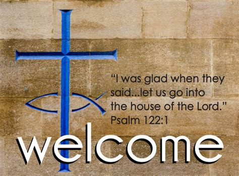 welcome postcards ministry greetings christian cards