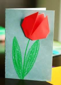 simple origami tulip create springtime with simple origami tulips make