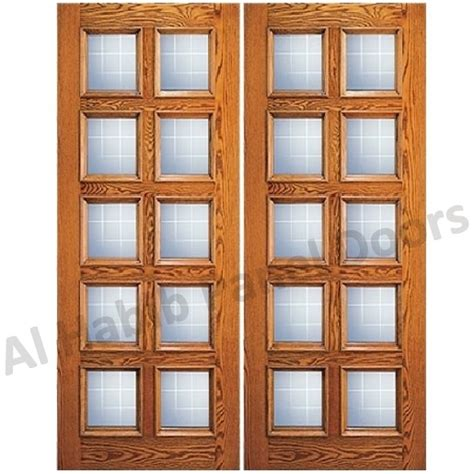 wooden doors with glass panels glass wooden door with frame hpd480 glass panel doors