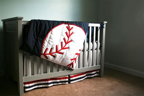 baseball nursery bedding sets grand slam comforter baseball theme decor by thetextileshop321