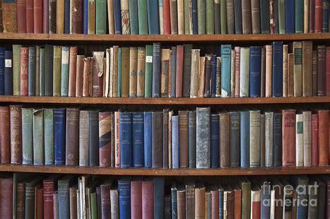 picture of bookshelf with books books on a bookshelf photograph by paul edmondson