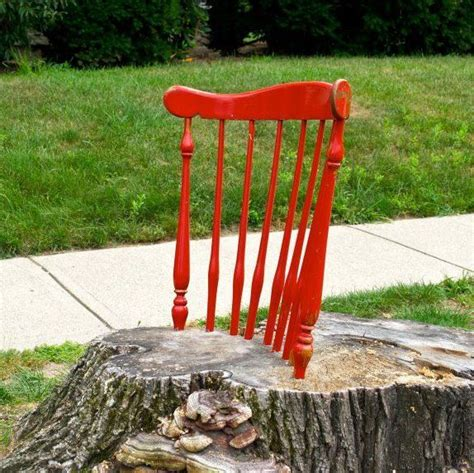 Stump Chair by Tree Stump Chair Neatorama