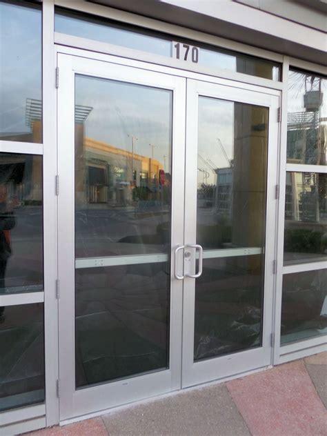 store front glass doors store front doors storefront glass door repair
