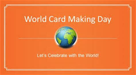world card day sending smiles across the world card day
