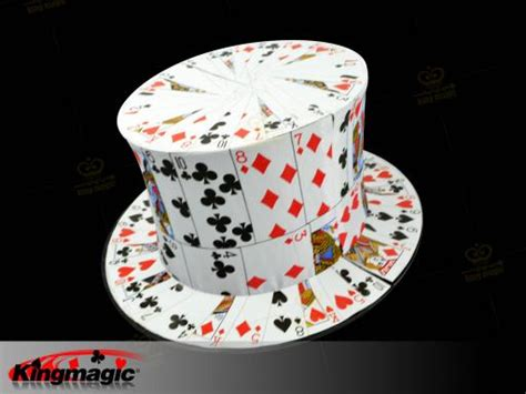 how to make a top hat from card card fan to card top hat high quality g0166