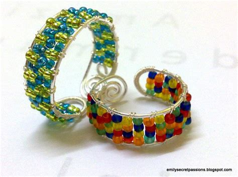 seed bead projects you to see adjustable wire wrap ring seed by
