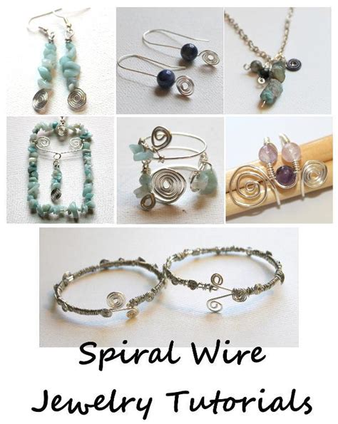 patterned wire for jewelry spiral wire jewelry by kimberlie jewelry pattern