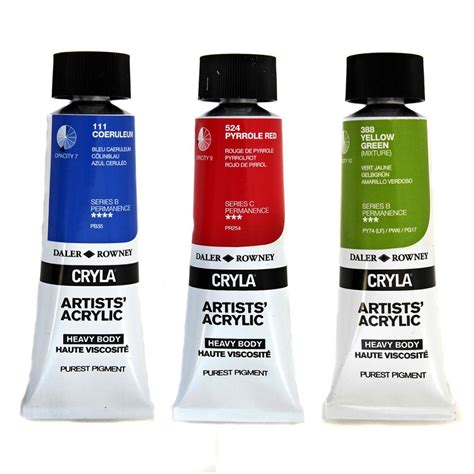 acrylic paint cryla artists acrylic paint supplies from