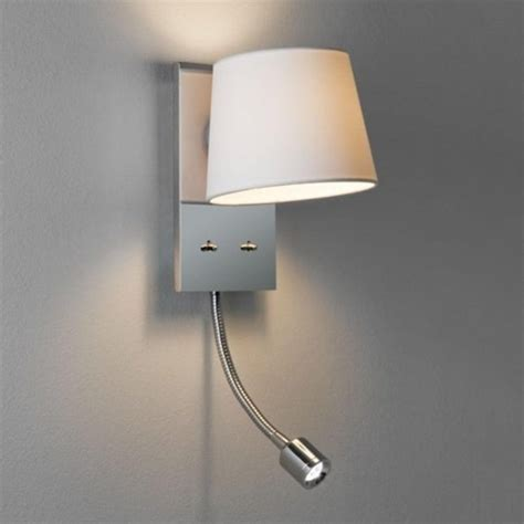 wall reading lights bedroom bedroom wall light incorporating led arm book