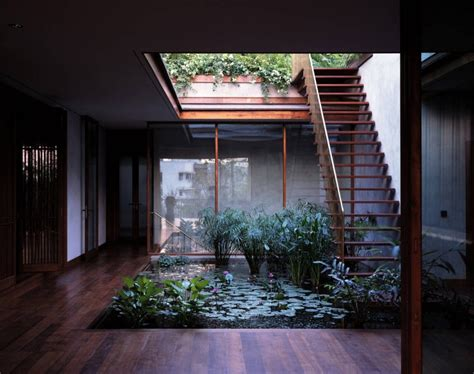 Wood House Plans small house plans with courtyards image best house design