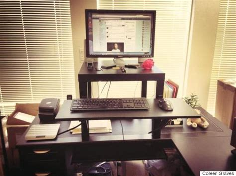 stand up desk ikea hack 6 desks that will make you happier and more productive at