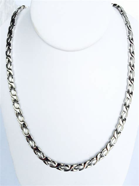 magnetic for jewelry stainless steel magnetic necklace smn 05 syntropy zone