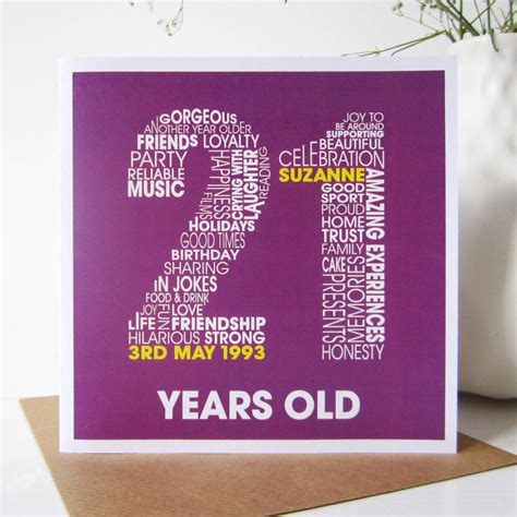 21st birthday card ideas card invitation sles 21st birthday cards square